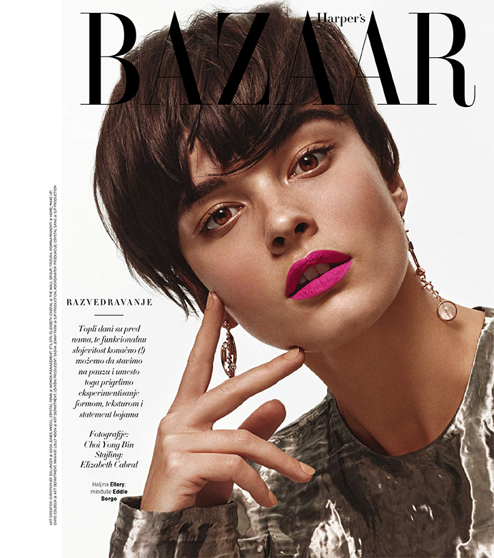 Crystal Renn for Harper's Bazaar Serbia May 2016 – Choi Yong Bin