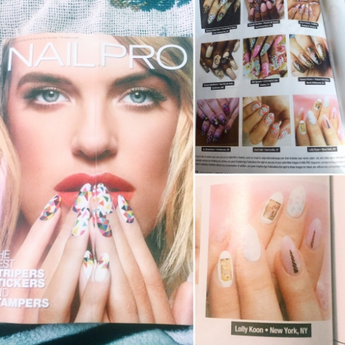 featured in Nailpro Magazine July 2016