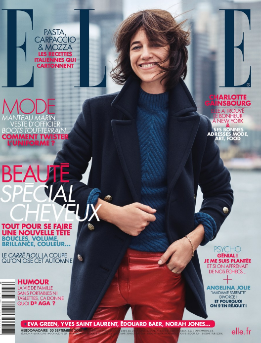 Charlotte Gainsbourg for Elle France - September Special Mode Issue 2016 – Steven Pan