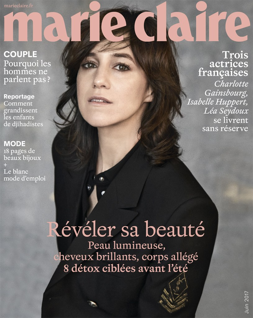 Charlotte Gainsbourg for Marie Claire France, May 2017 – Nick Hudson