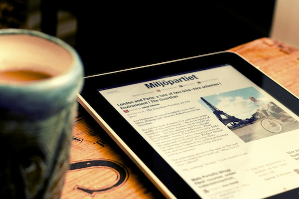 social media strategy - flipboard on an ipad