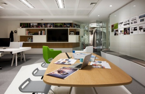 Google London L4 Office Design