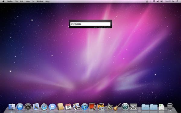 focusbar mac productivity