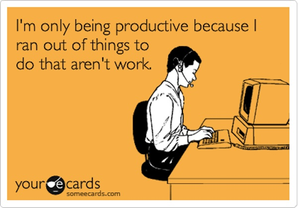 productivity and procrastination