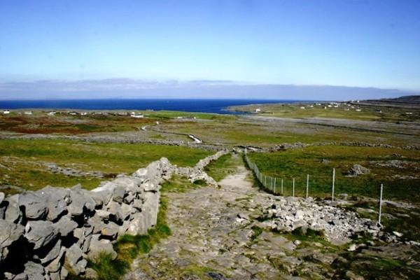 The Aran Islands in Ireland