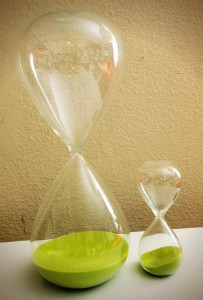 Productivity Tools hourglass set