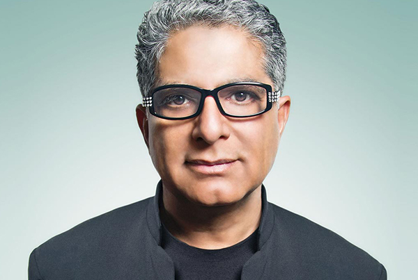 Deepak Chopra productivity hack
