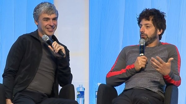 larry page and sergey bring talk about the 40-hour workweek