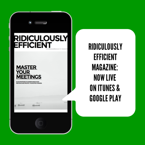 ridiculously efficient magazine