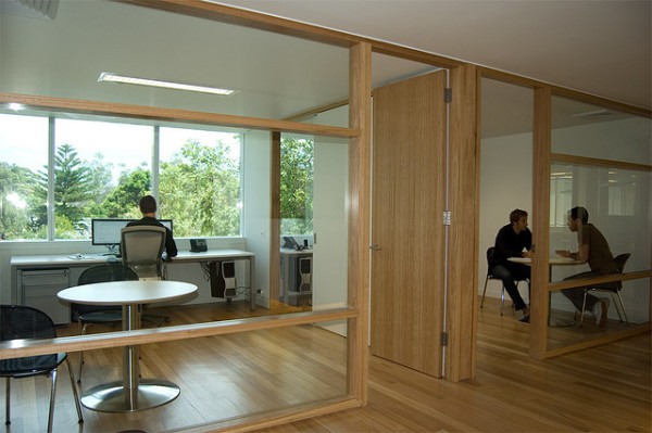 natural light office