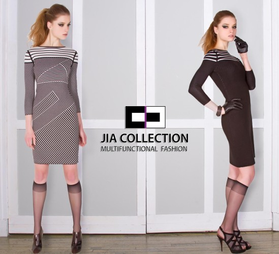 Johana Reversible Knit Dress from Jia Collection