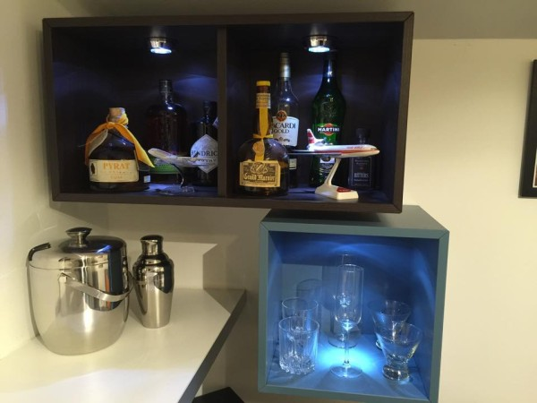 office bar shelves