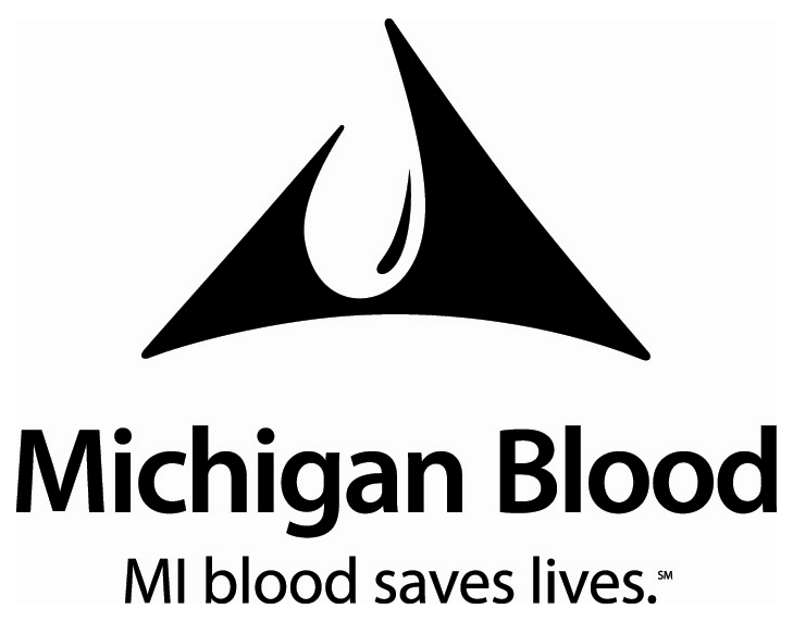 Michigan Blood Logo