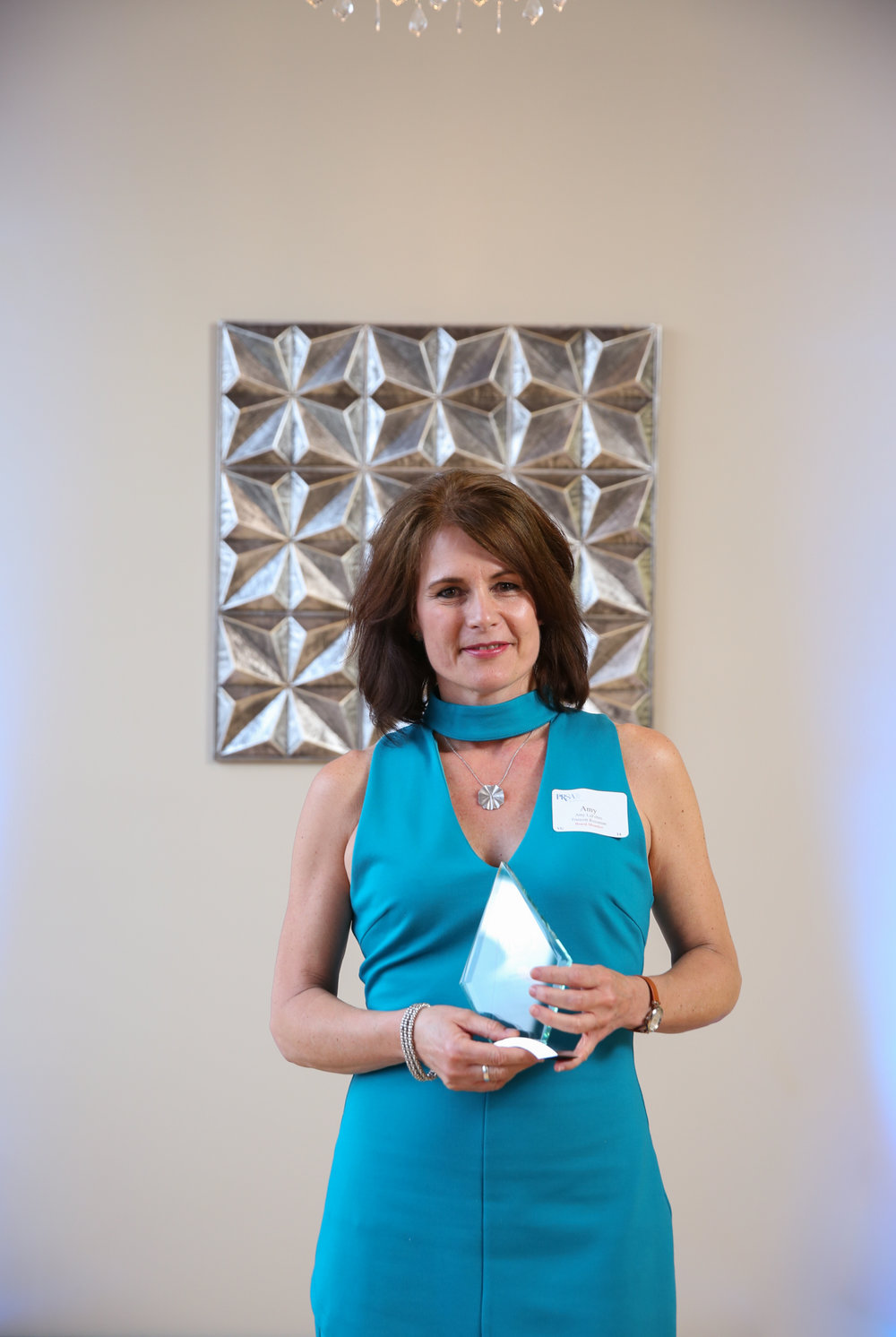 Amy LeFebre, PR Professional of the Year, senior account executive for Truscott Rossman