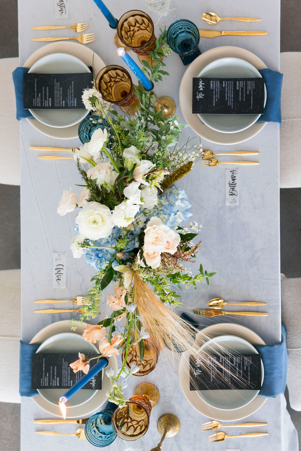 modern wedding reception tables blue.jpg