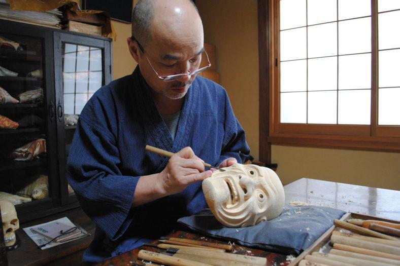 Noh Masks Lecture_Photo by Yamazaki Kenji.jpg