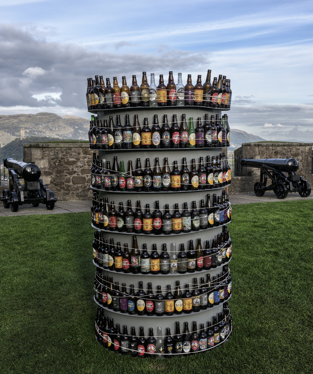 Augen_Levy - Beer Bottles, Sterling Castle, Scotland detail.jpg