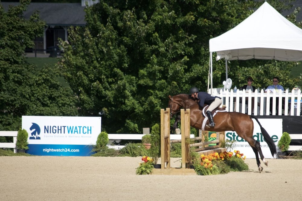 NIGHTWATCH® was an official sponsor of the USHJA Pre-Green Incentive and International Hunter Derby Championships in Lexington, Kentucky.