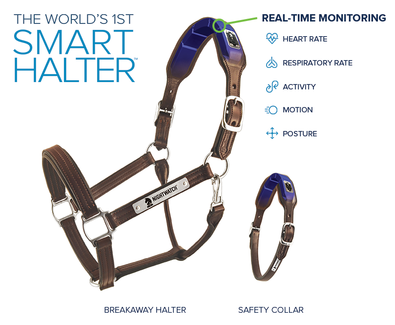NIGHTWATCH® Halter & Collar with Diagram