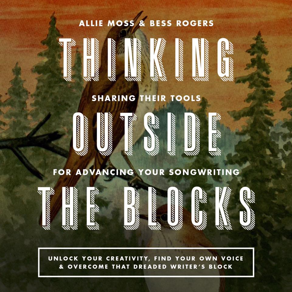 My writing partner  Allie Moss  & I are excited to share the lessons we have learned & tools for digging deeper with our songwriting. JUNE 10 in Brooklyn & 11 in Asbury Park, NJ! More info at  http://www.thinkingoutsidetheblocks.net