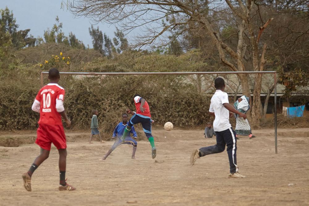 Football Arusha Tanzania Africa