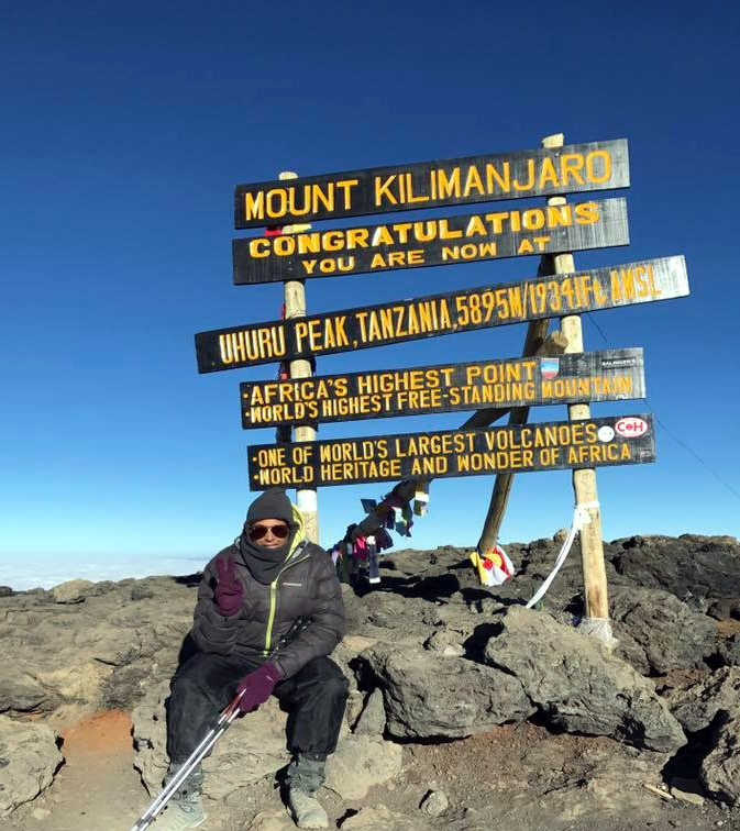 Danielle Davidson Mount Kilimanjaro Lengo Football Academy
