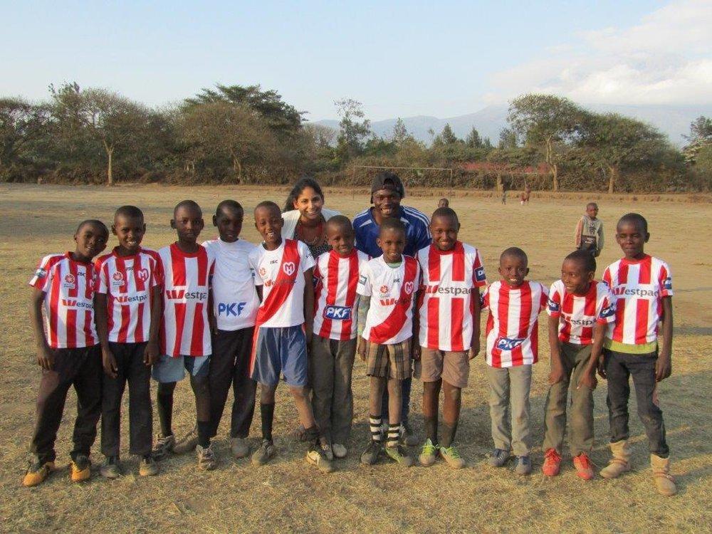 Danielle Davidson Lengo Football Academy