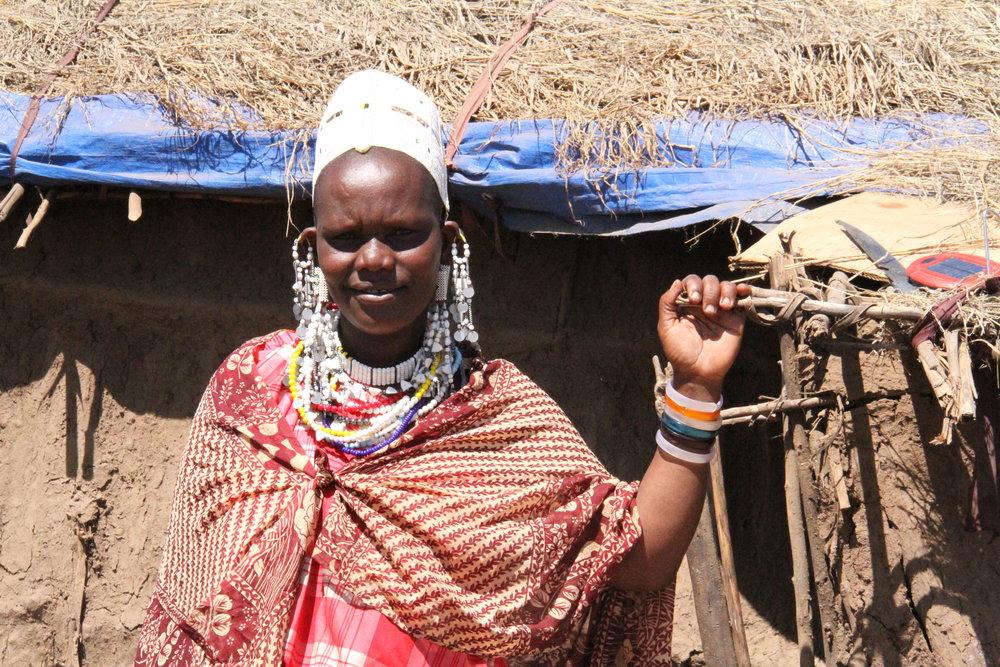 Sarah Ngorongoro Maasai Christmas Stars