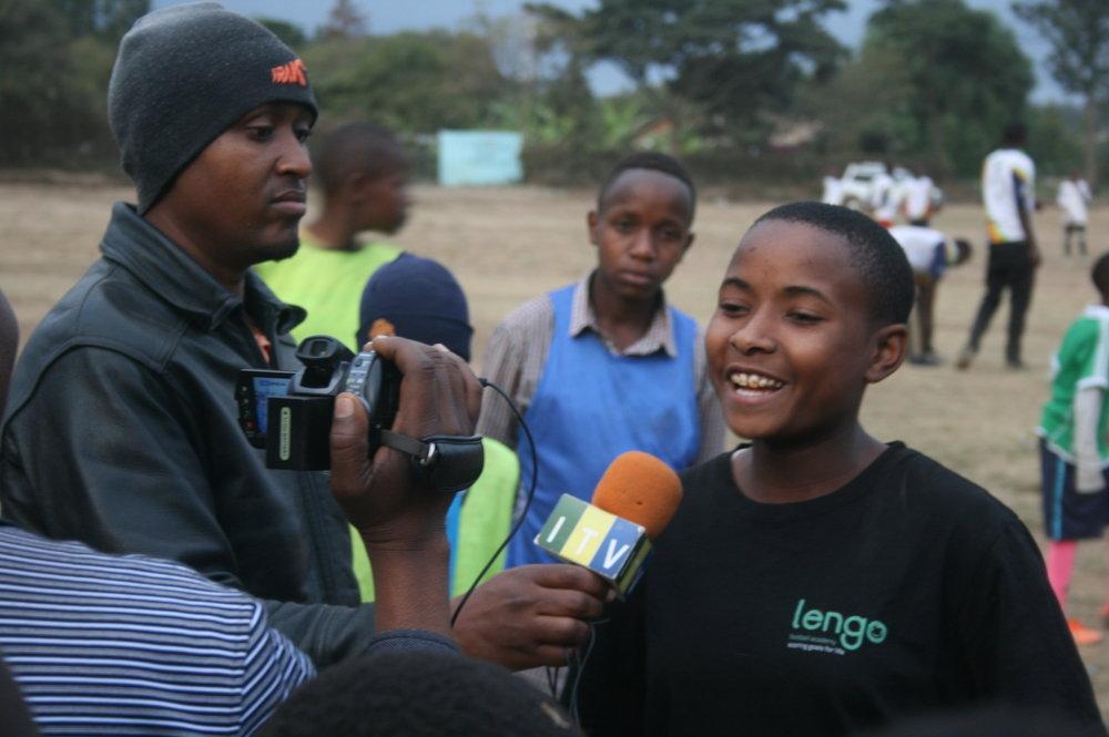 Angel Lengo Football Academy ITV Tanzania