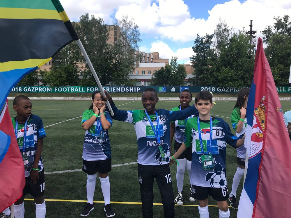 Laigwanani Lengo Football Academy Football for Friendship
