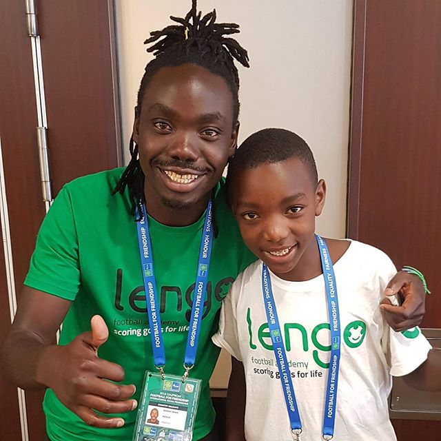 """Football has changed @lengofootballacademy Laigwanani's life. He said """"when I got the opportunity to come here (to Moscow) it was a dream come true for me, as it was the only way for me to fly on a plane. In my Maasai Mollel family I am the only one ever to have flown. I was not scared but as very excited and very happy."""" Link in bio."""