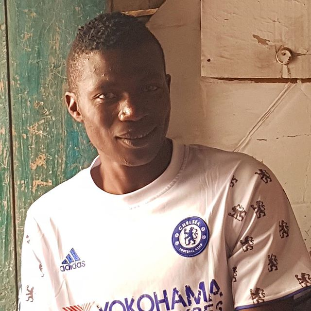 At the age of 17 Solomon had to give up a brutally tough job as a manual labourer at a sugar mill, concerned the toll it was taking was literally killing him. He is now pinning his hopes on @lengofootballacademy to help his fulfil his dreams. Link in bio.