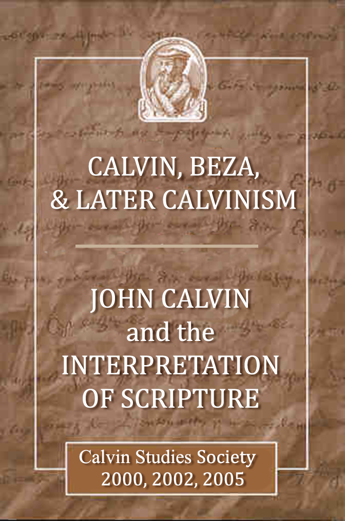 Publication - 2005 Calvin Beza Later Calvinism.png