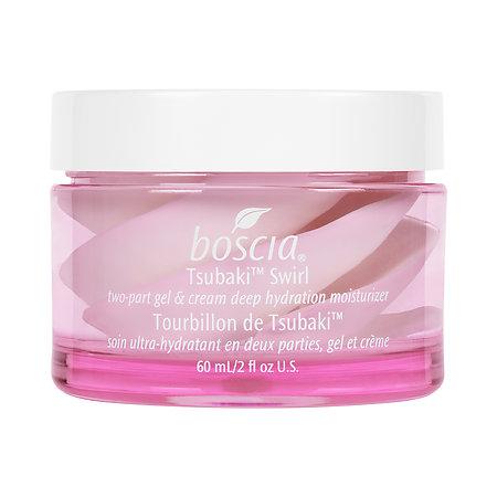 boscia Tsubaki™ Swirl Two-Part Gel & Cream Deep Hydration Moisturizer;  $38