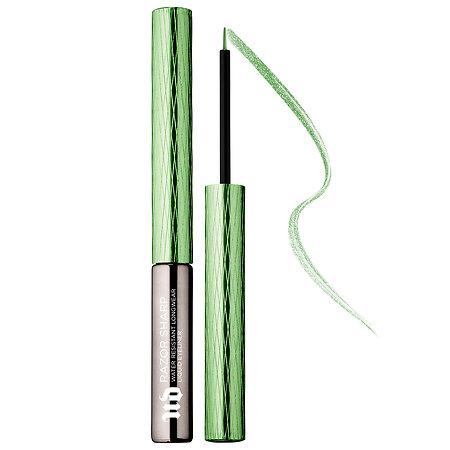 Urban Decay Razor Sharp Water-Resistant Longwear Liquid Eyeliner in Grass Green;   $22