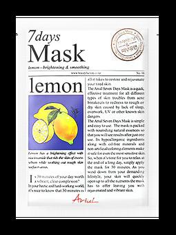 Ariul   7 Days Mask in Lemon;   $1.99