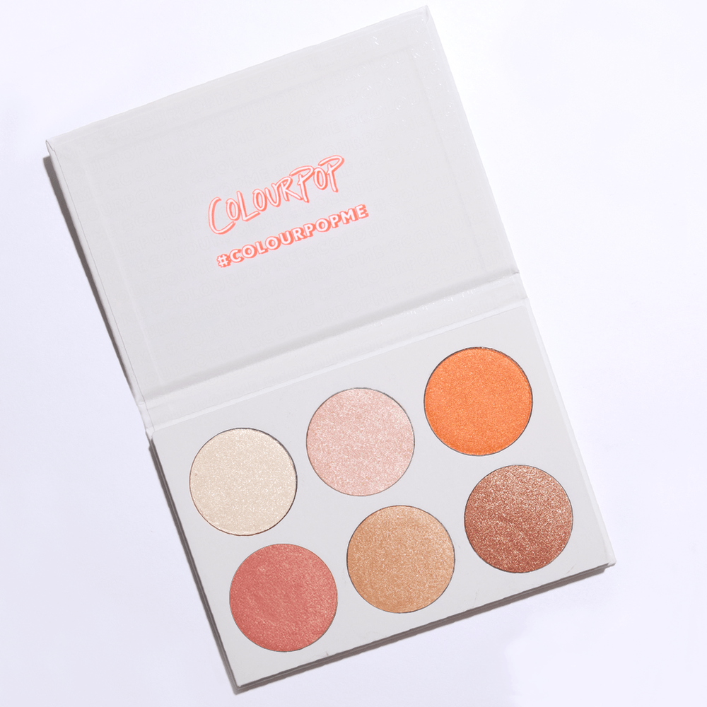 Colourpop   Gimmie More! Highlighter Palette;   $18