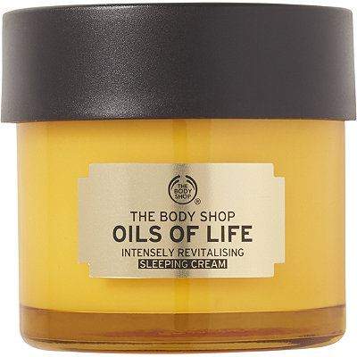 The Body Shop   Oils of Life Sleeping Cream Mask;   $39