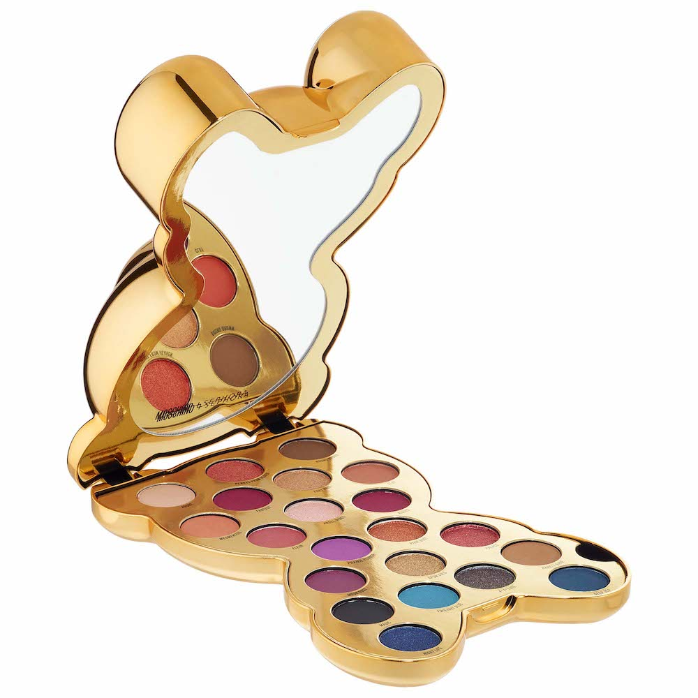 SEPHORA COLLECTION   MOSCHINO + SEPHORA Bear Eyeshadow Palette;   $48