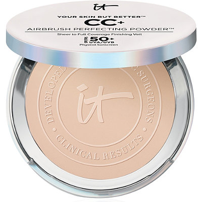 I     t Cosmetics   Your Skin But Better CC+ Airbrush Perfecting Powder;   $35