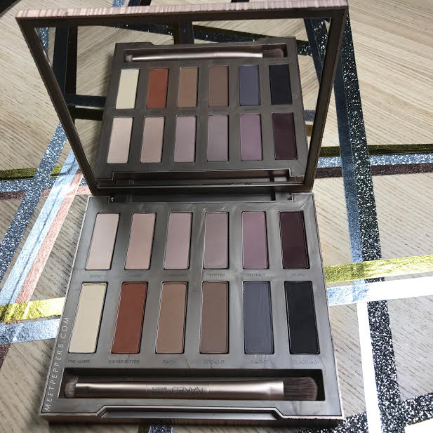 Urban Decay also carries 2 smaller Naked Basics palettes that have less color in them.    Here ⇀