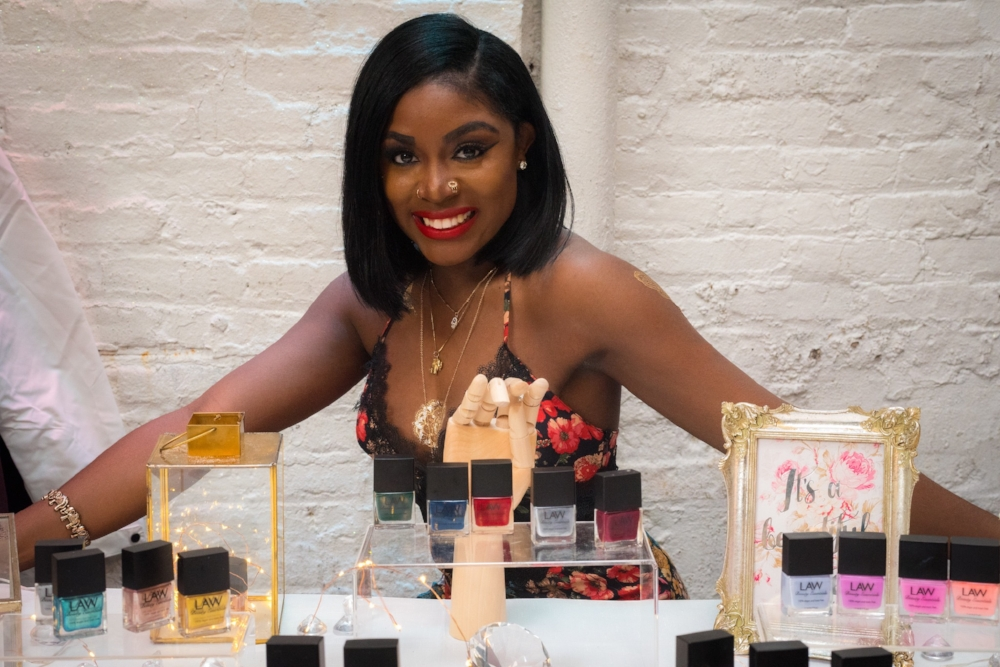 Tanisha Lawrence Creator of Law Beauty Essentials