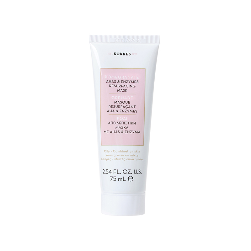 Korres   Pomegranate AHA & Enzymes Resurfacing Mask
