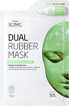 Scinic   Dual Rubber Soothing Wrapping Mask
