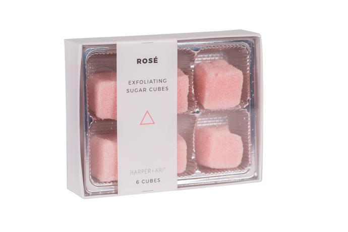 Harper + Ari   Exfoliating Sugar Cubes – Rosé