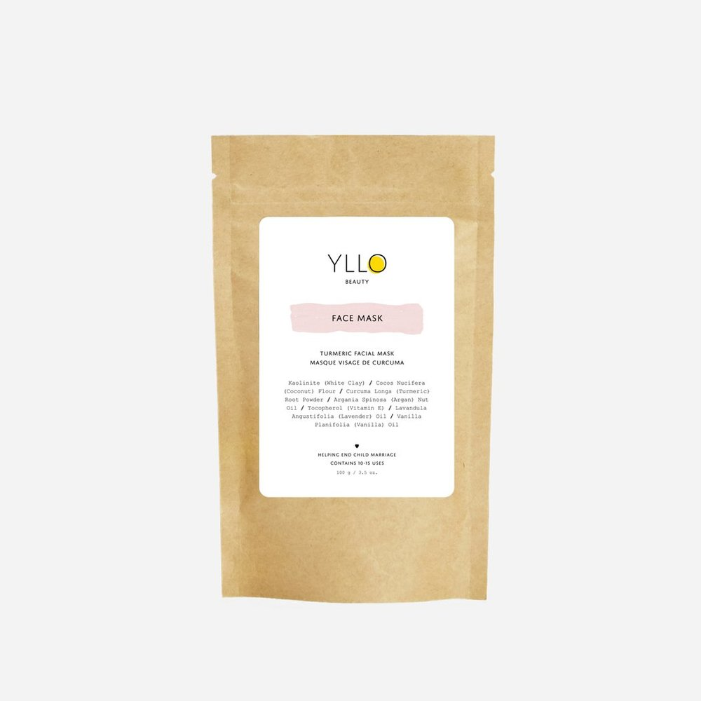 Yllo Beauty   Turmeric Facial Mask
