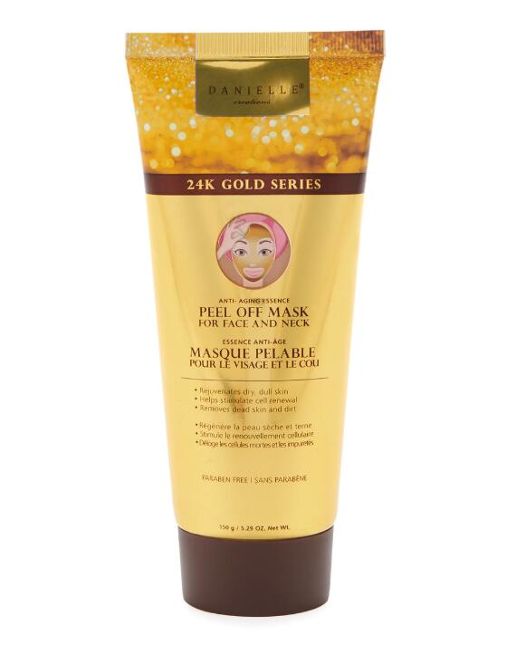 Danielle Creations   24K Gold Series Anti-Aging Peel Off Mask for Face and Neck
