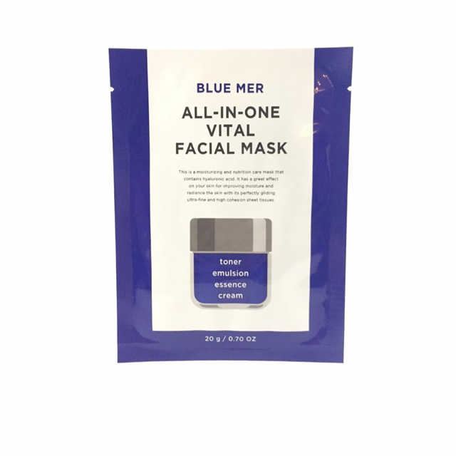 Blue Mer   All-In-One Vital Facial Mask