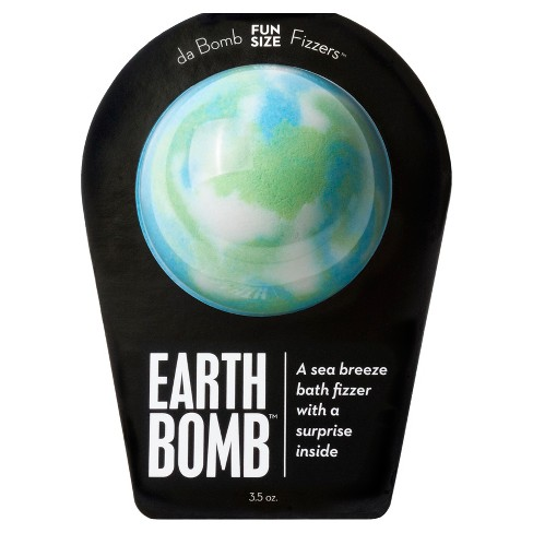 DA BOMB    Earth Bomb Bath Fizzer