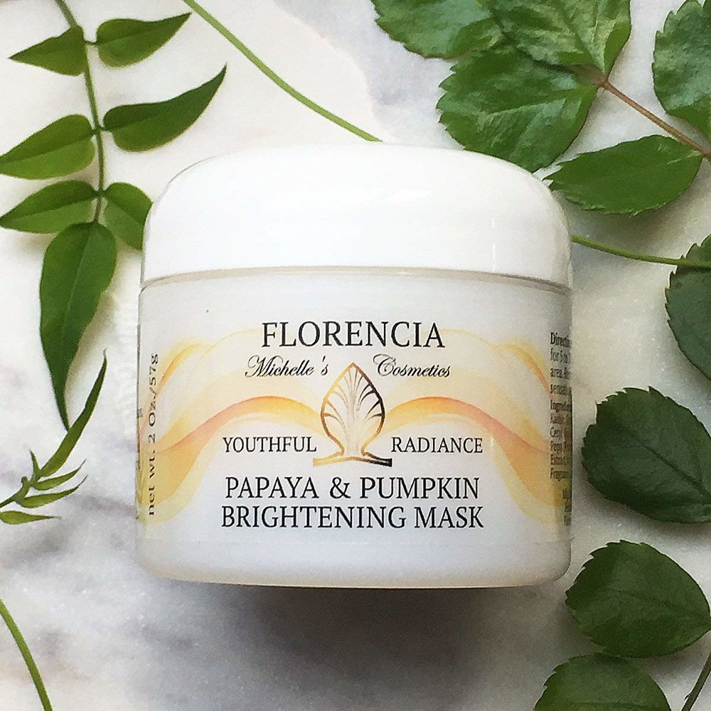Florencia Collection   Papaya & Pumpkin Brightening Mask